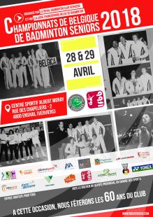 Belgian Senior Badminton Championships 2018