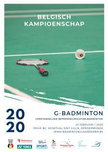 Belgian Para-Badminton Championships 2020